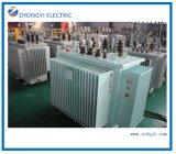 Transformateur électrique à 3 phases avec refroidissement par huile à joint complet et à usine
