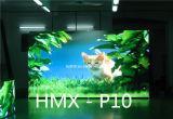 Afficheur LED polychrome d'intérieur de location de performance d'étape de la définition P10 élevée