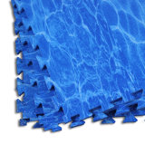 Type environnemental de mer de couvre-tapis de gymnastique d'étage de mousse de Kamiqi EVA