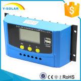 12V/24V 20AMP USB-5V/2Aの太陽系CyK20Aのための太陽充電器のコントローラ