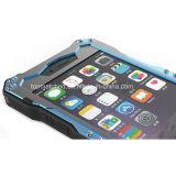 Nuovo Outerdoor mette in mostra la cassa di alluminio contro lo sporco Shockproof impermeabile del telefono del metallo di vetro Tempered IP68 per il iPhone 6