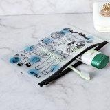 Sac portatif de tirette de PVC de beauté d'impression fait sur commande d'OEM avec la taille faite sur commande