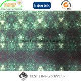 印刷される100つのPesの方法布のライニングファブリックパターンを並べる