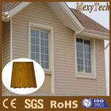 Revestimiento de madera compuesto de la pared exterior del fabricante WPC de China