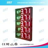 Exibição de preços de gás à prova de água ao ar livre (controle remoto ou PC)