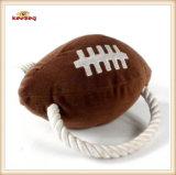 Juguete del perro del estilo del rugbi del juguete de la felpa del animal doméstico (KB0027)