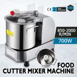 9L de dubbele Machine van de Mixer van de Snijder van het Voedsel van het Roestvrij staal van de Bladen van het Metaal