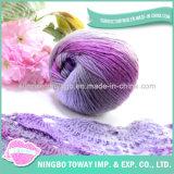 도매 메리노 양모 땅딸막한 공상 모직 손 뜨개질을 하는 털실