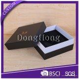 エヴァの挿入が付いているカスタムロゴの黒の無光沢の包装ボックス
