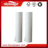 90 g/m² 54''*100m à séchage rapide du papier de transfert de chaleur pour sublimation l'impression textile