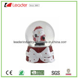 Покрашенный вручную Figurines птицы глобуса снежка смолаы для подарка сувенира и домашнего украшения, OEM радушны