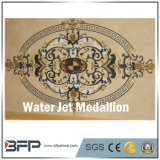 주문을 받아서 만들어진 작풍 대리석 물 분출 지면 디자인 큰 메달