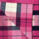 Tela Napping de las lanas de la verificación para el sobretodo