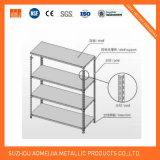"unità d'acciaio della scaffalatura 5-Shelf, 48 "" larghezze X 72 "" altezze X 18 "" lunghezze, rosse"