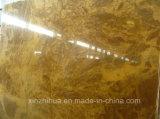 贅沢な装飾のための自然な磨かれた銅の黄色い大理石のTiles&Slabs