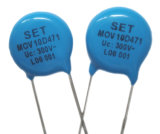 Protecteur de surtension à haute tension de zinc varistor à oxyde métallique (MOV)