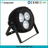 Lautes Summen LED NENNWERT Lampe der Leistungs-3PCS 60W RGBW für Stadium