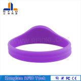 Wristband Closed-Loop personalizado do silicone da cinta de pulso RFID da cor