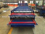 機械を形作る二重層の金属板のプロフィールロール