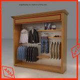 La coutume folâtre le présentoir de vêtements pour le système