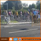Barreira expandida revestida pó do controle de multidão da segurança