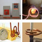 De Buis die van het koper het Verwarmen van de Inductie van de Hoge Frequentie Machine lassen