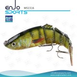 Señuelo bajo de muchas secciones de la pesca de los trastos de pesca con Vmc los ganchos de leva agudos (MS1516)