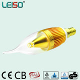 5W exclusivo Chip cree Scob Velas LED E14 Bombilla (LS-B305 GB)