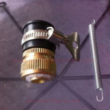 Латунный штуцер трубы обжатия/латунные штуцеры трубы пушки шайбы