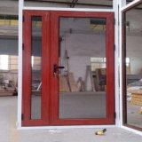Двери Lowes верхнего качества замороженные алюминием стеклянные нутряные для кухни