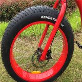 Новая конструкция шин жира на пляже электрический велосипед