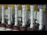 Het marmeren het Draaien van het Graniet Scherpe Hulpmiddel Dyf600 van de Balustrade van de Machine van de Draaibank