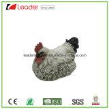 Polyresinのイースター装飾のための現実的な雌鶏の鶏の彫像