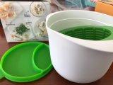 Molde / tigela / recipiente de fabricante de queijo caseoso de silicone de plástico