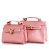 Bolsas de couro em couro com bolsa de couro Bolsa de ombro feminina
