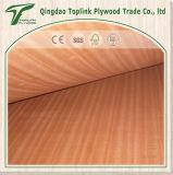 usine mince de contre-plaqué de bois dur rouge de 2.3mm Chine à Linyi