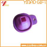 紫色の小型のシリコーンのFoldable漏斗の習慣(Xinyuanのシリコーン-12)