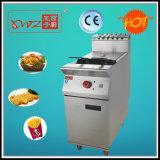 Fabrication de friteuses électriques à grande capacité commerciale à grande qualité avec un bon prix