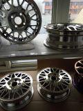 Авто хромированные колеса автомобиля магнетрон отличается неравномерностью вакуумный покрытие машины