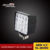 luz del trabajo del carro LED del poder más elevado 48W para campo a través
