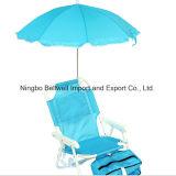 죔쇠를 가진 유모차 우산