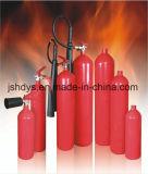 Extintor vazio de CO2 de 2kg de Cilindro com Certificação Ce