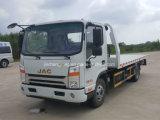 Vrachtwagen van Wrecker van het Slepen van Rhd 4X2 Flatbed, de Vrachtwagen van de Verwijdering van het Blok van de Weg