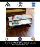 Hzct124ミラのコーヒーテーブルの大理石表