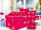 Reeks van het Beddegoed van de Dekking van het Dekbed van het Af:drukken van de Douane van de Polyester van het Huis van China Suppiler de Textiel Dierlijke Kleurrijke Goedkope