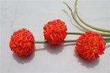 El Hydrangea artificial de las pistas de la seda 3 florece el Hydrangea verdadero del tacto