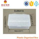 Piccola scatola di plastica dello scompartimento 8