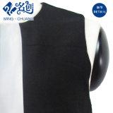 Белый заслонки смешения воздушных потоков черного цвета задней молнией мода долго платья