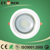 bulbo cuadrado montado luz superficial de 10W LED Downlight