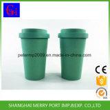 Tazza di caffè di bambù amichevole Eco- di Reuseful della fibra